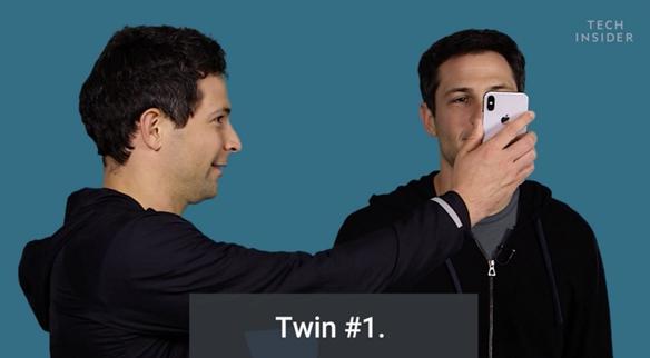 终极挑战!一个模子刻出来的双胞胎挑战Face ID识别精度
