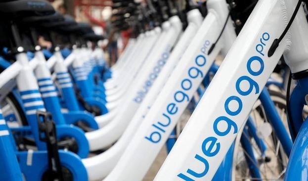 最好骑的小蓝车Bluegogo人去楼空,共享经济的弊端暴露无遗