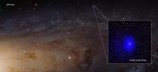 宇宙第一巨型黑洞惊现:大小约为2亿个太阳