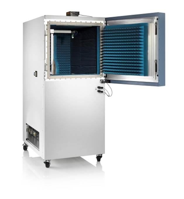 罗德与施瓦茨展示首台可应用于5G天线和收发器的可移动OTA暗室