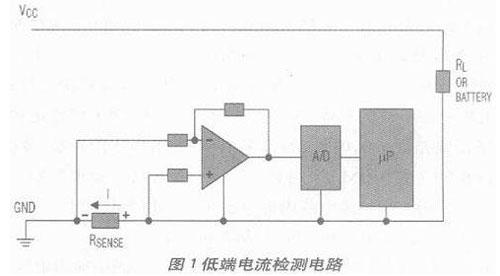电流检测电路图