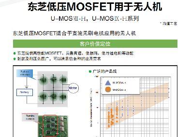东芝低压MOSFET用于无人机