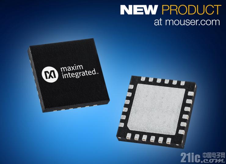 贸泽备货Maxim超低功耗MAX12900传感器变送器 助力4�C20mA电流环路工业自动化