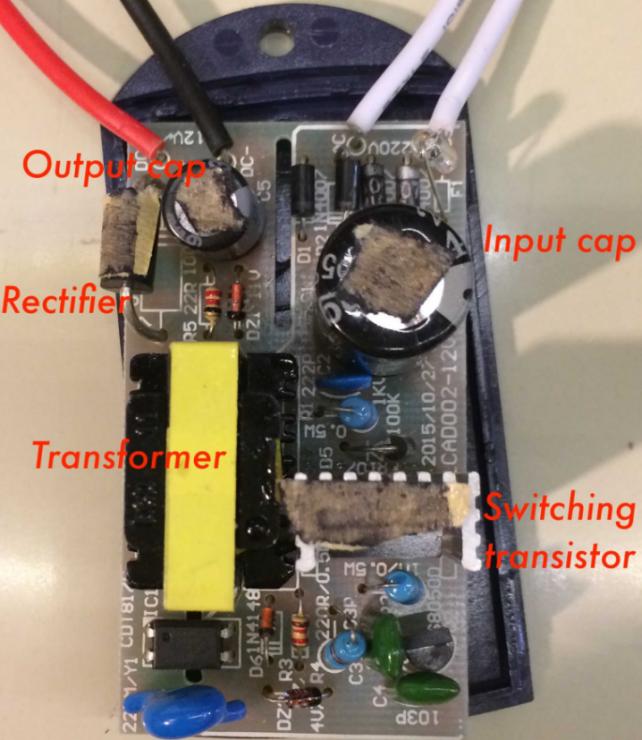 国产的12V电源不行?美国工程师换了个电容和整流器后。。