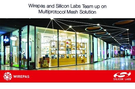 Wirepas和Silicon Labs携手为物联网提供多协议网状网络解决方案