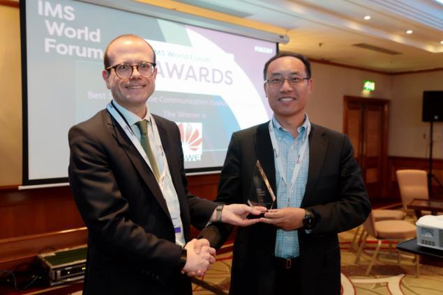华为荣获IMS世界论坛两项大奖,构筑面向5G的实时通信演进能力