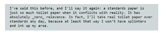 linux之父又怼开发者:C标准就是一坨狗屎!