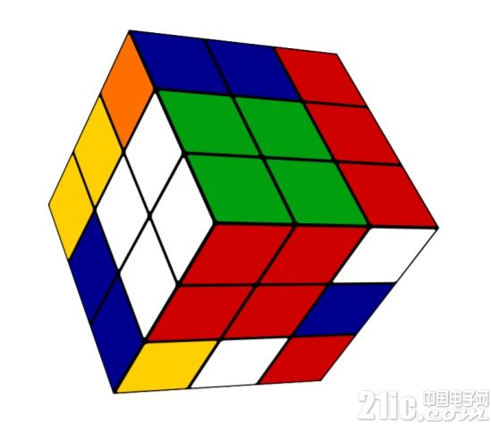 AI 自学就可用更少步数复原任意 3 阶魔方
