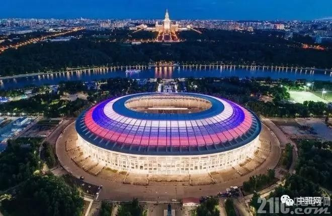 看一下俄罗斯世界杯12座球场夜景照明