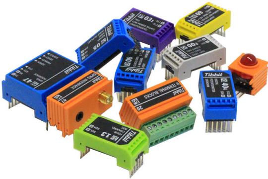 Tibbo-Pi:适用于树莓派的Wirefree模块化物联网原