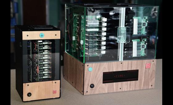 32个树莓派3B和一个UDOO X86组成的数据中心——Ci