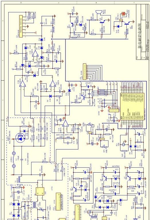 攻破电磁炉维修难点,电磁炉维修之美的电磁炉电路大讲解