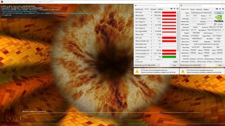 七彩虹iGame GTX 1660 SUPER显卡温度、功耗双测评