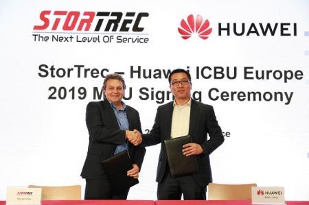StorTrec与华为智能计算签署合作备忘录,共筑泛欧服务交付网络